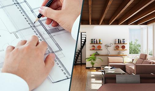 Thuê dịch vụ trọn gói thiết kế thi công nội thất