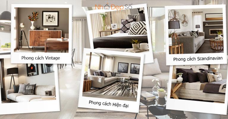 xác định phong cách thiết kế nội thất mình thích