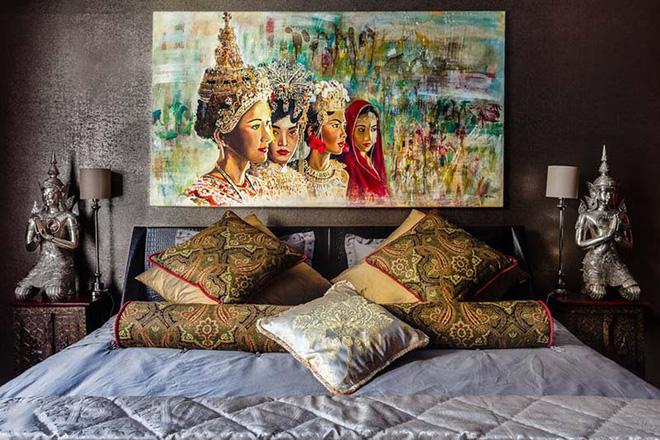 Tổng hợp 7 ý tưởng trang trí đầu giường phòng ngủ đơn giản nhưng đẹp xuất sắc - Nhà Đẹp Số (15)