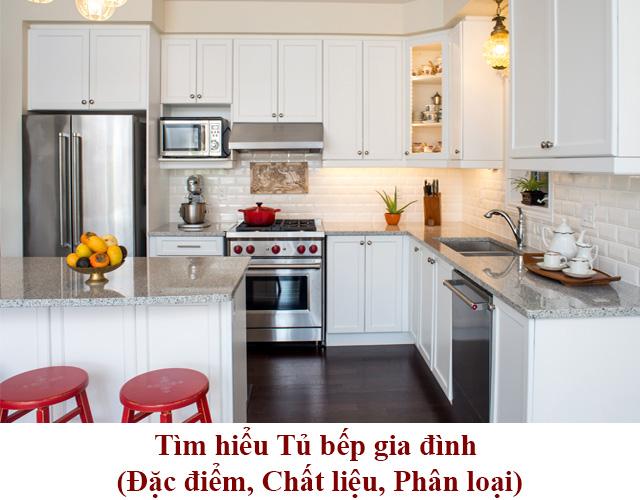 tìm hiểu về tủ bếp gia đình