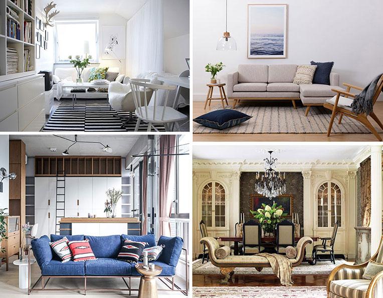Các phong cách nội thất