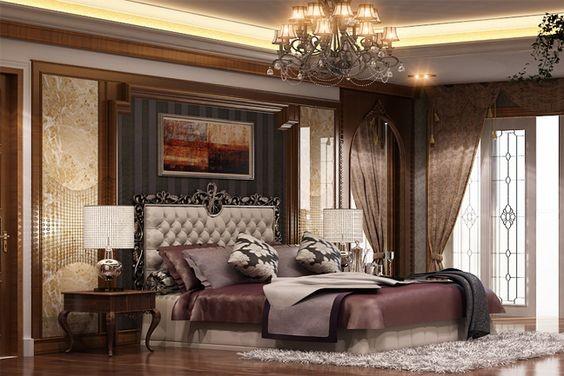 căn hộ chung cư đẹp theo phong cách cổ điển
