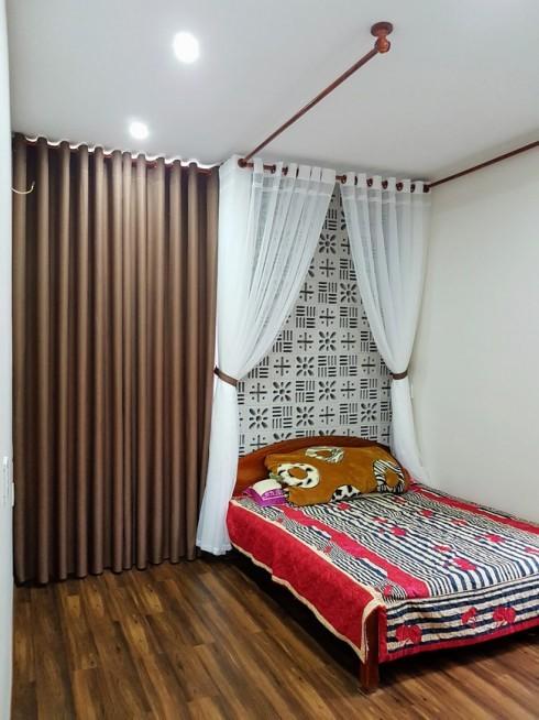 Gạch bông gió trắng cho phòng ngủ thông thoáng