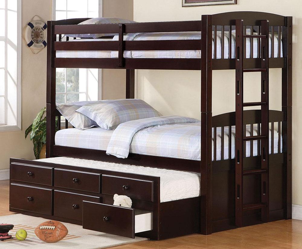 giường tầng trẻ em nhiều ngăn kéo