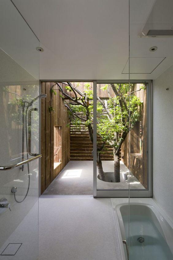 không gian xanh cho phòng tắm 1