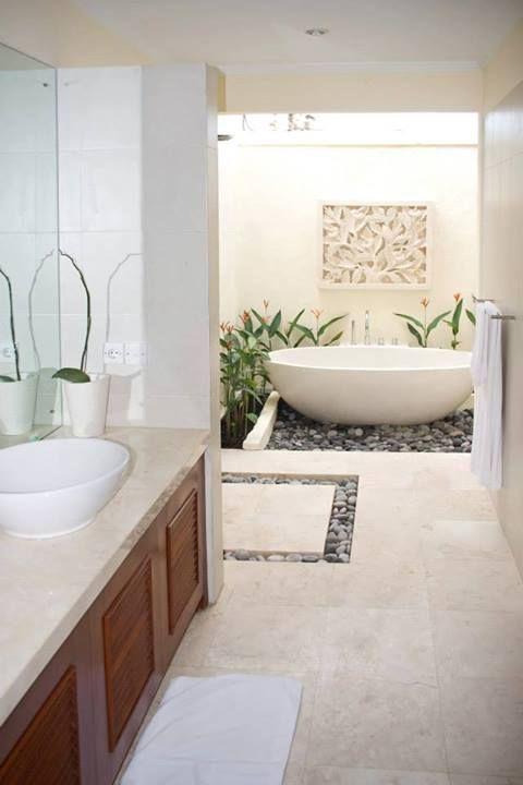 không gian xanh cho phòng tắm 2
