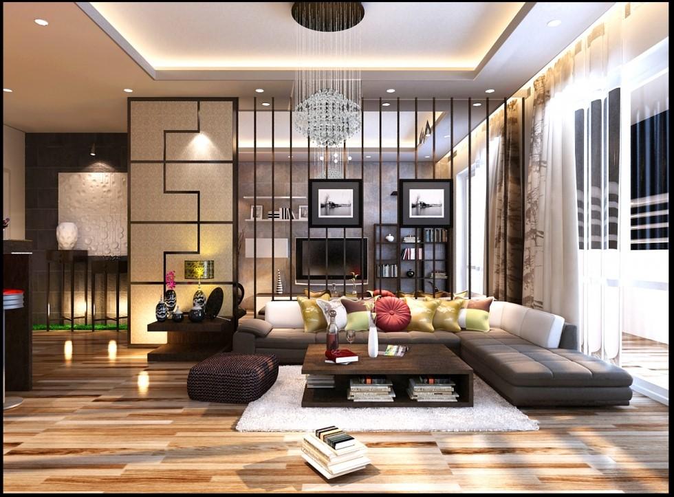 thiết kế nội thất nhà ở sang trọng