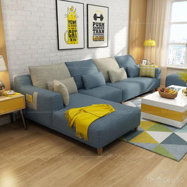Bộ sofa ghép cho phòng khách.