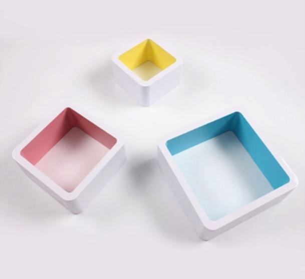 kệ treo tường hình khối vuông