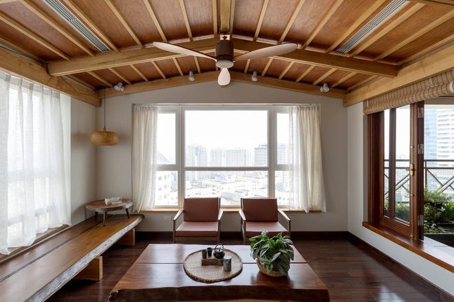 nội thất gỗ cao cấp cho phòng khách