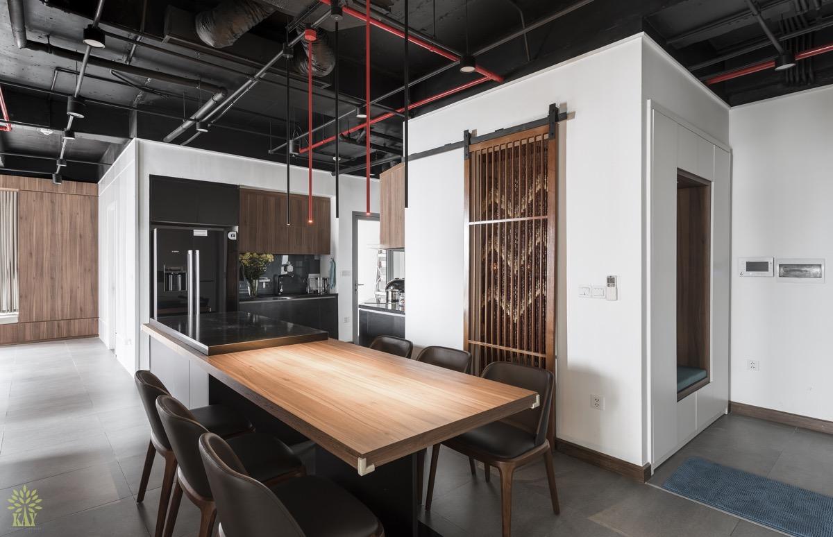 nội thất gỗ cao cấp cho nhà bếp