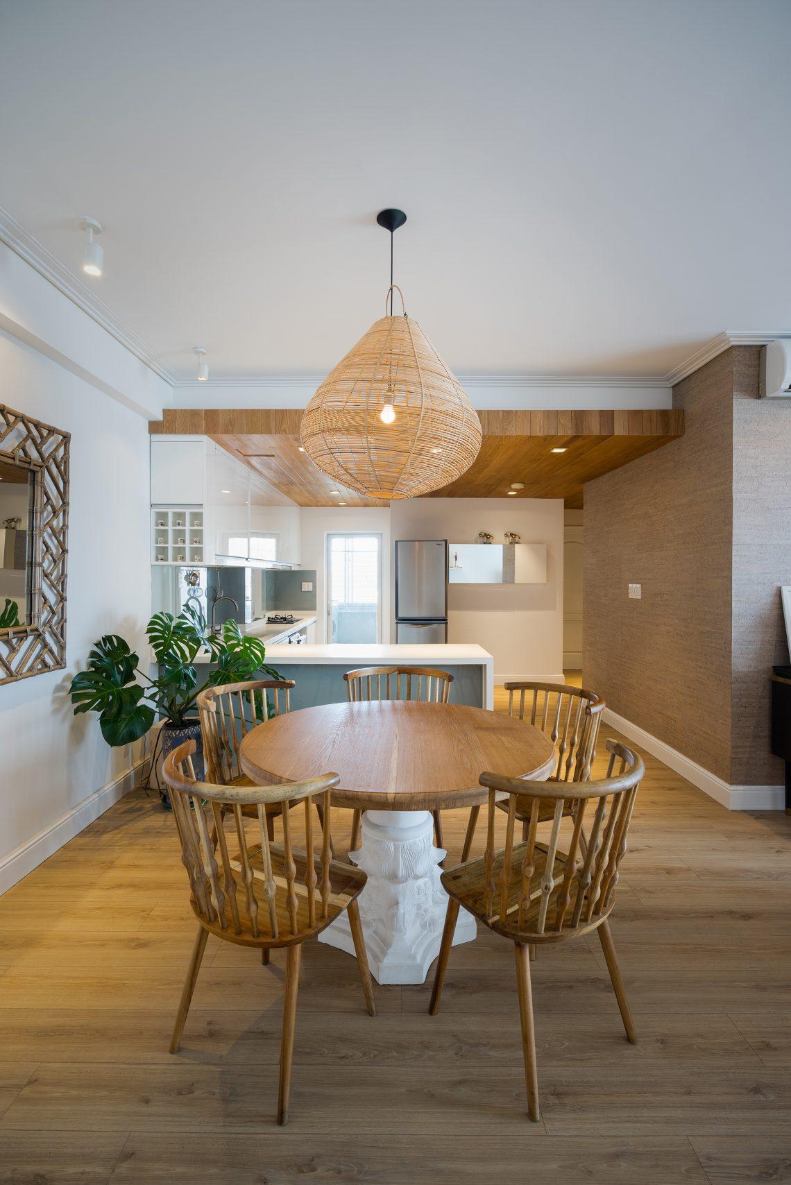 nội thất gỗ cao cấp cho phòng bếp ấm cúng