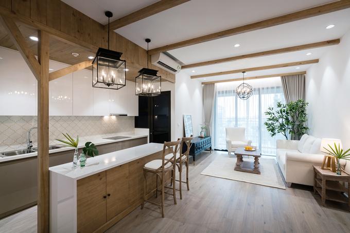 nội thất gỗ cao cấp phong cách đồng quê