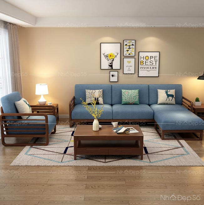 Sofa là nội thất chính của phòng khách gia đình rất đáng đầu tư.