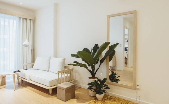 căn hộ sang trọng theo phong cách tối giản Nhật Bản