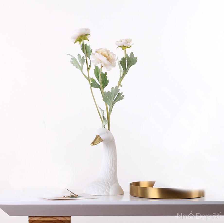 Bình cắm hoa Thiên Nga