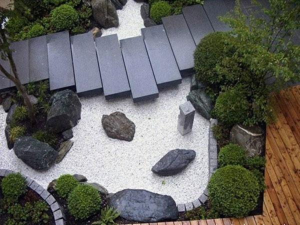 mẫu sân vườn nhật bản phong cách zen