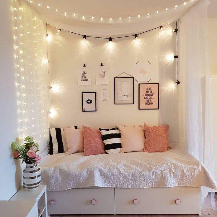 Với đèn dây trang trí bạn có thể decor căn phòng của mình với rất nhiều phong cách khác nhau
