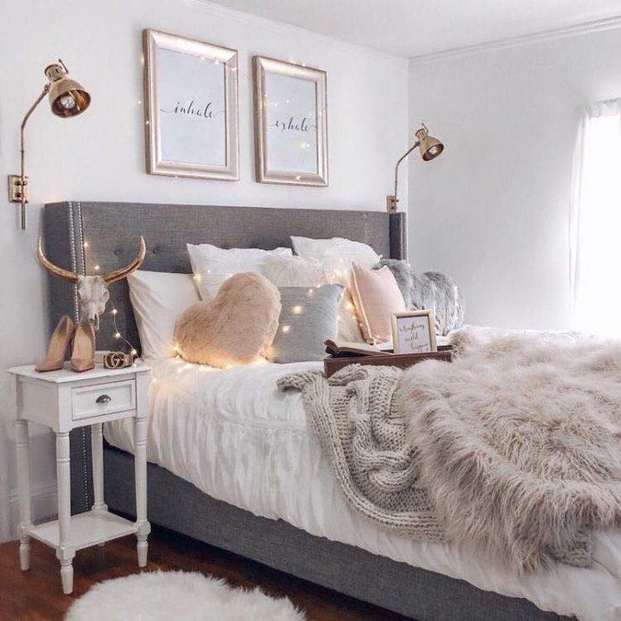 Đèn gắn tường trang trí phòng ngủ