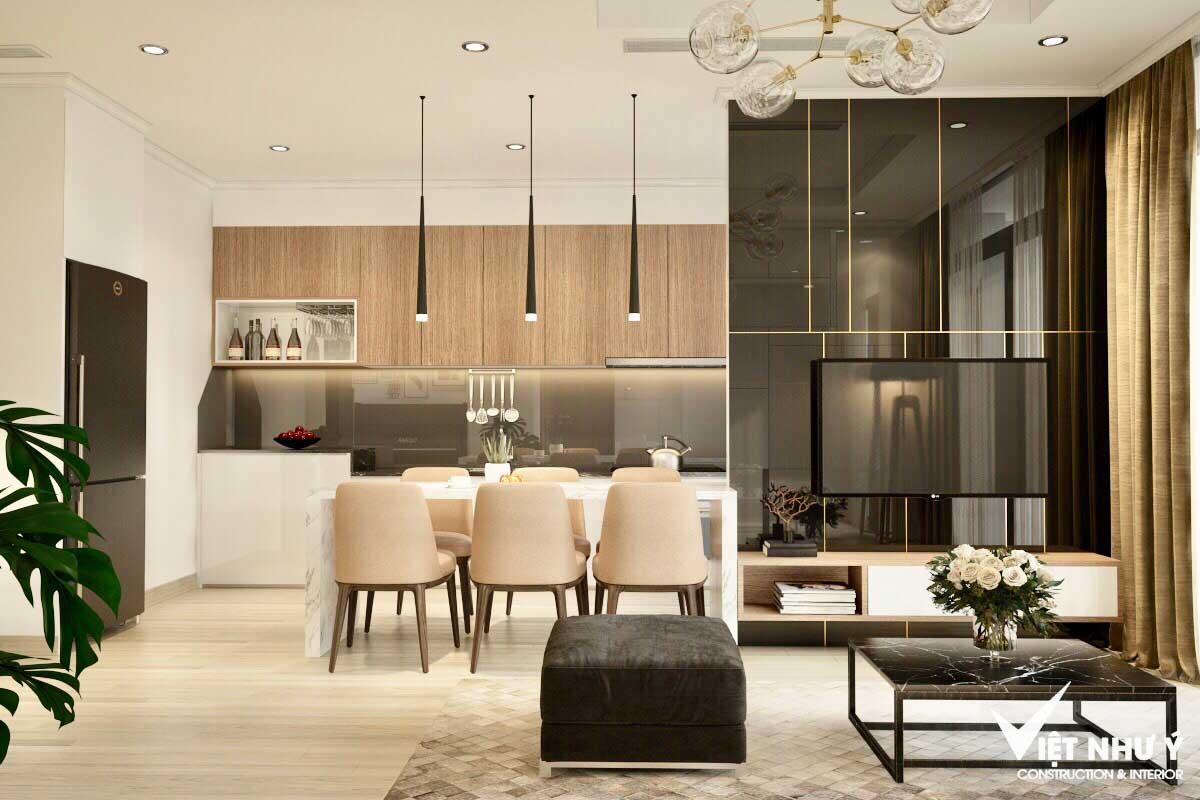 thiết kế nội thất công ty Việt Như ý