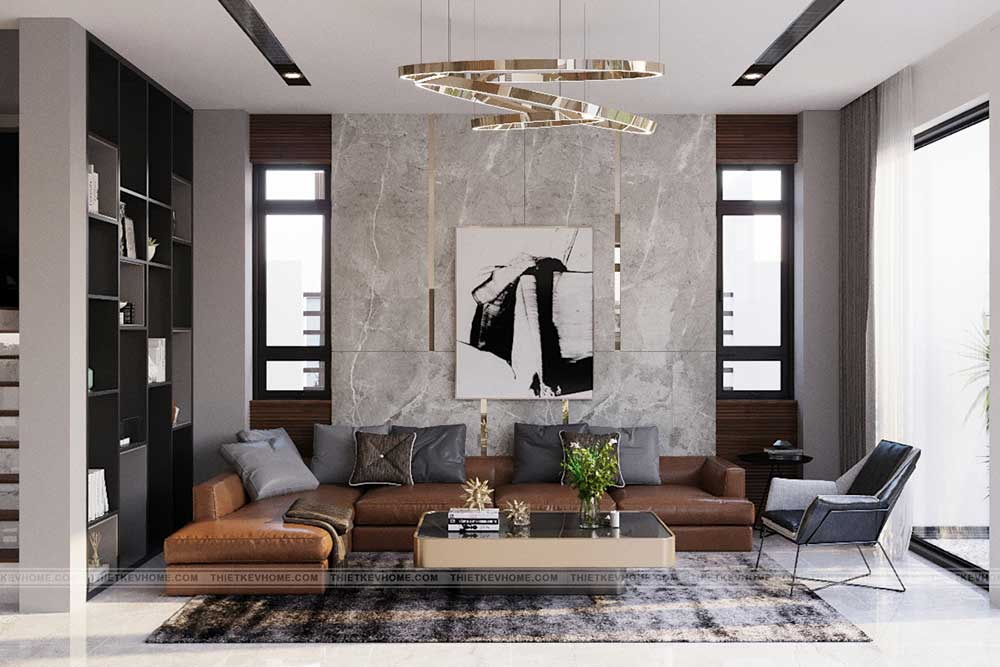 thiết kế thi công nội thất v-home