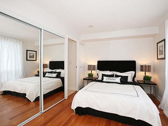 thêm gương kính phù hợp cho những căn phòng ngủ nhỏ nhắn