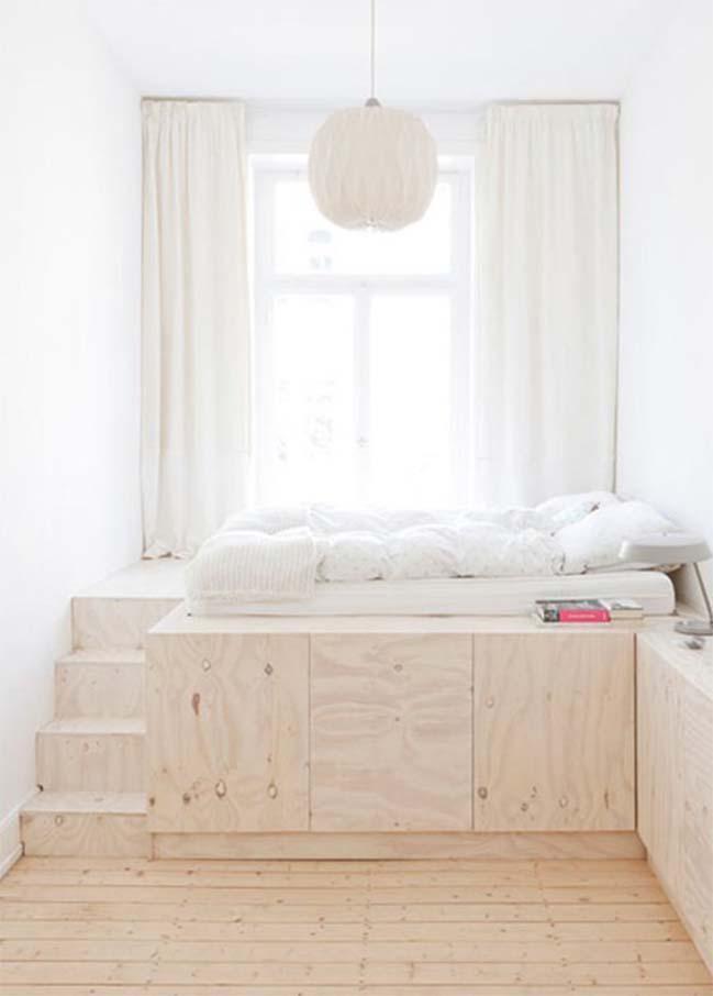 giải pháp sử dụng tông màu sáng cho phòng ngủ nhỏ