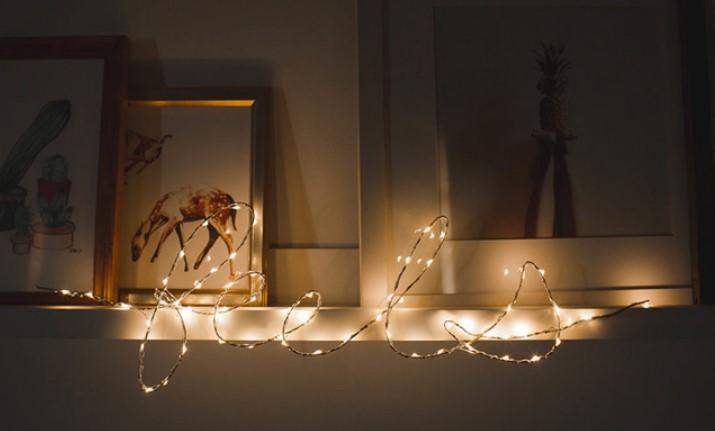 Tạo hình chữ cho đèn nhấp nháy