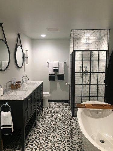 Gạch phòng tắm mẫu gạch bông hoa văn