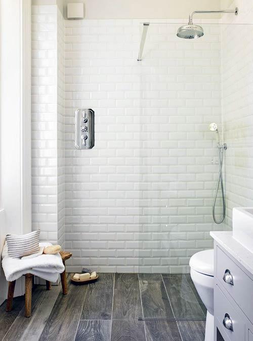 Gạch phòng tắm mẫu gạch thẻ