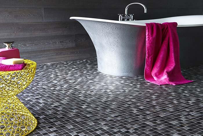 Gạch phòng tắm mẫu gạch mosaic