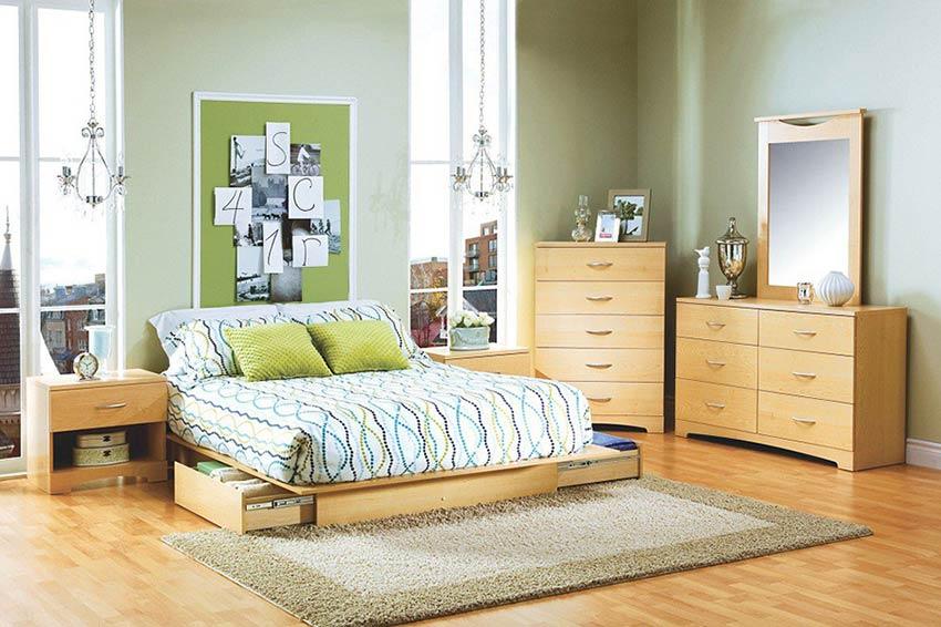 Kiểu giường thấp