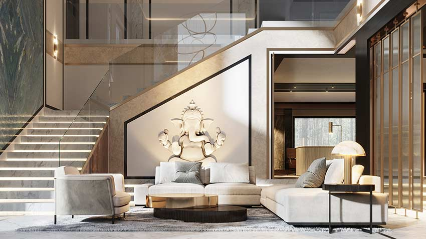 Mẫu căn hộ Duplex đẹp by Soffit Interior tại Nhadepso