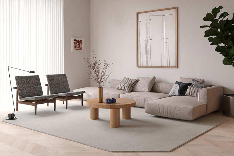 Mẫu căn hộ đẹp đơn giản by Artem Design tại Nhadepso