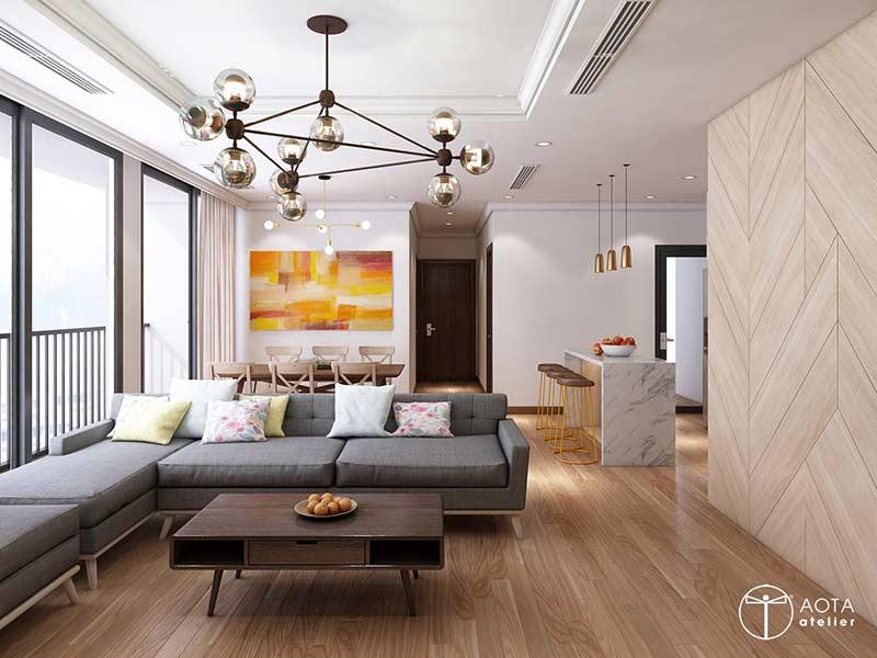 Mẫu chung cư đẹp by AOTA atelier tại Nhà Đẹp Số