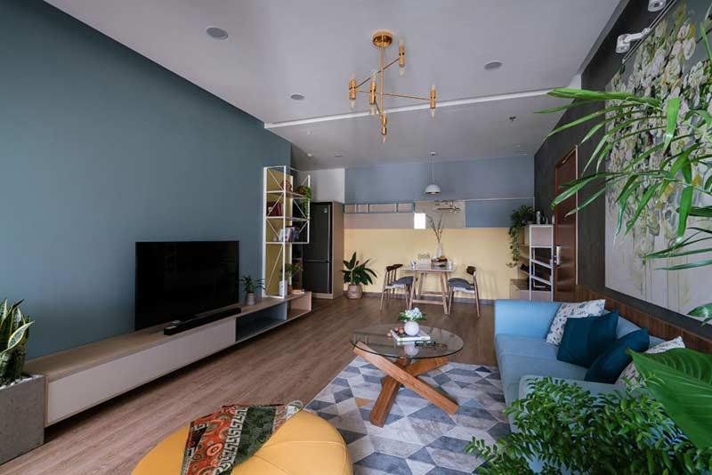 Mẫu căn hộ chung cư đẹp by Archa Studio tại Nhà Đẹp Số
