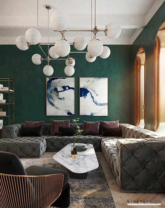 Mẫu nội thất căn hộ đẹp by Vivat Design tại Nhadepso