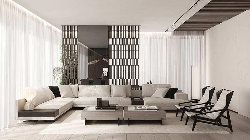 Căn hộ sang trọng by Dezest Design tại Nhà Đẹp Số