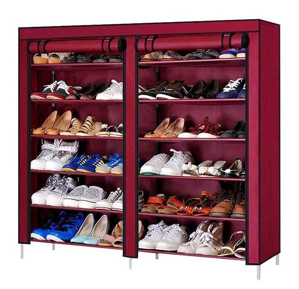 Tủ giày vải 2 ngăn