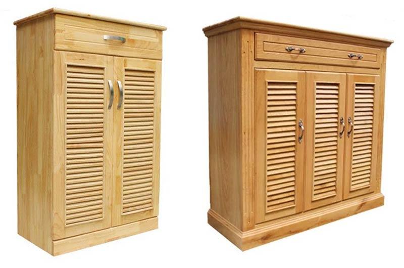 tủ giầy gỗ
