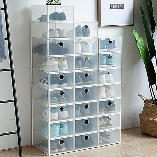 tủ giày nhựa lắp ghép