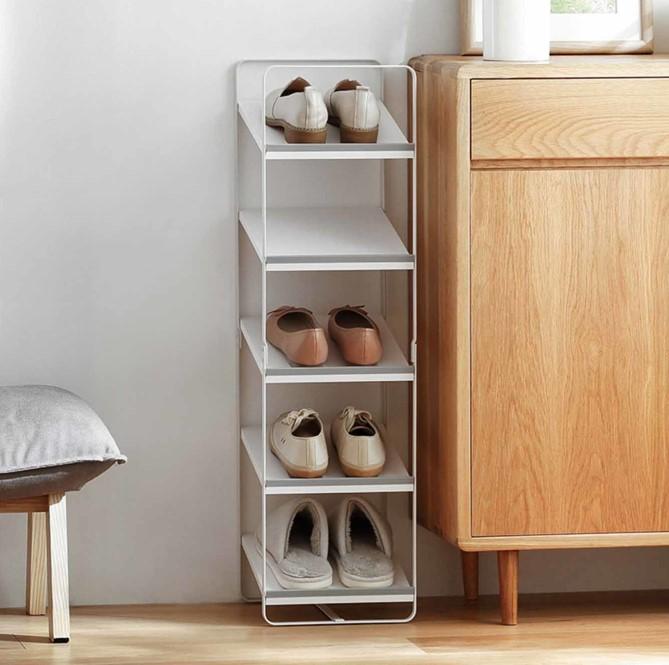 Kệ giày dép 5 tầng cho không gian sống hạn chế