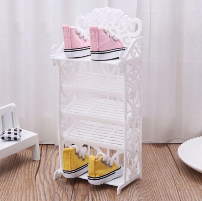 Kệ giày dép mini cute thích hợp dành con gái