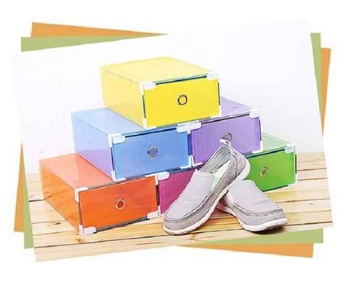 Hộp đựng giày với nhiều màu sắc đa dạng