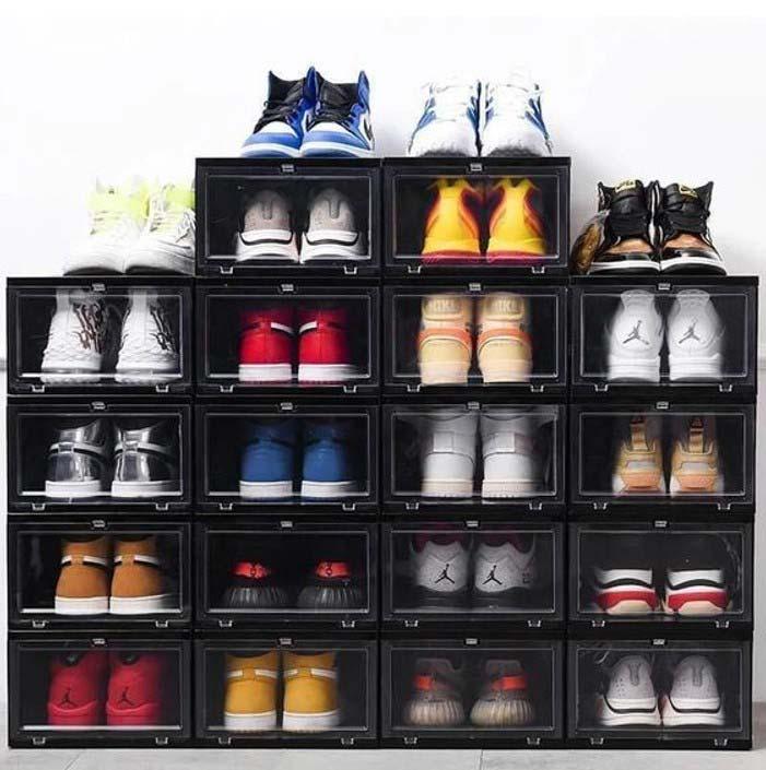 Hộp đựng giày kiểu này là phụ kiện không thể thiếu cho những đôi sneaker