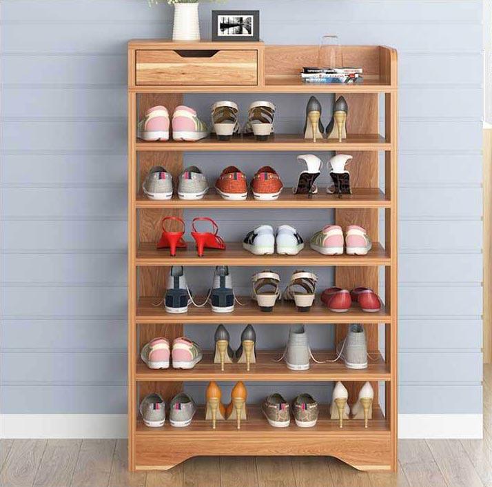 kệ giày bằng gỗ