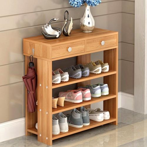 kệ giày dép gỗ tiện lợi