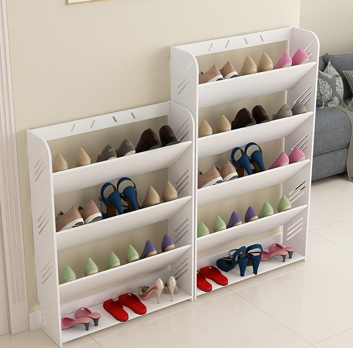 kệ giày gỗ tiết kiệm diện tích