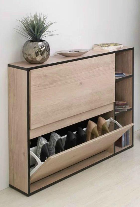 Tủ giày thông minh với thiết kế hiện đại