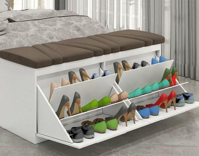 Tủ giày thông minh kiêm ghế ngồi